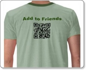 Scan for Friends- new fashion statement?