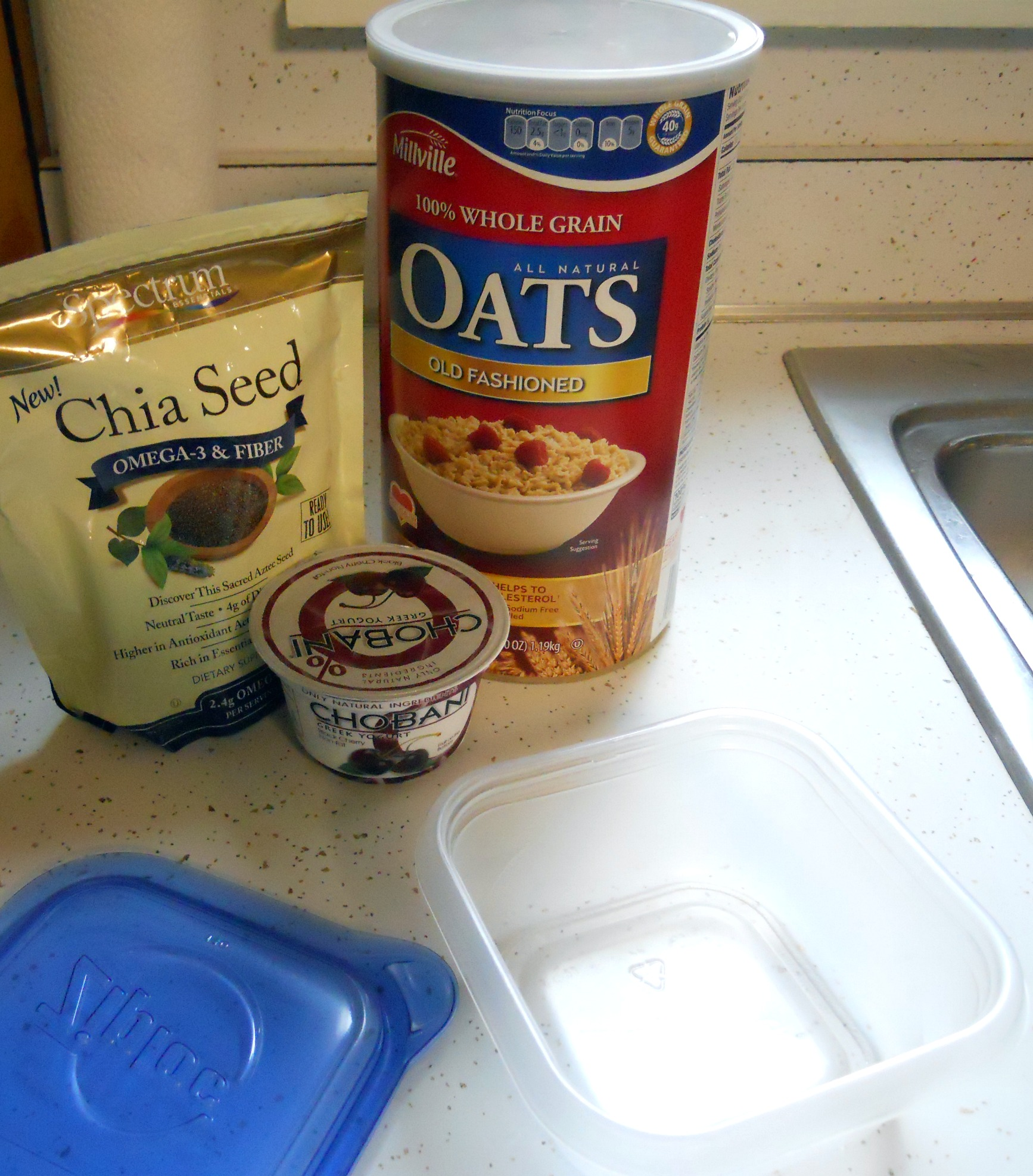 Overnight Oats, Chobani Recipes
