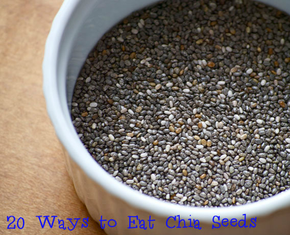20 ways to eat Chia Seeds, chia seeds