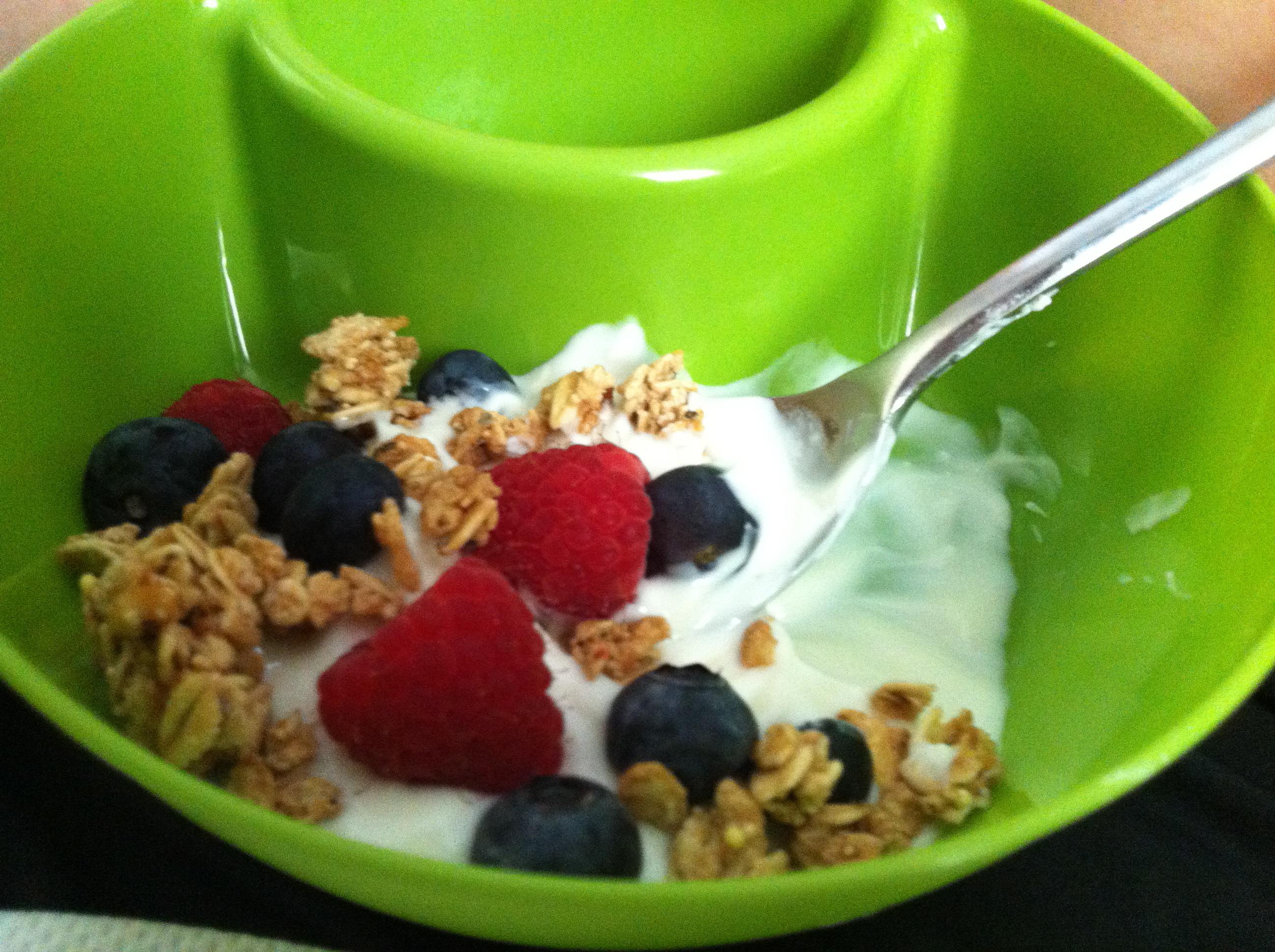 Chobani, Granola & Fruit